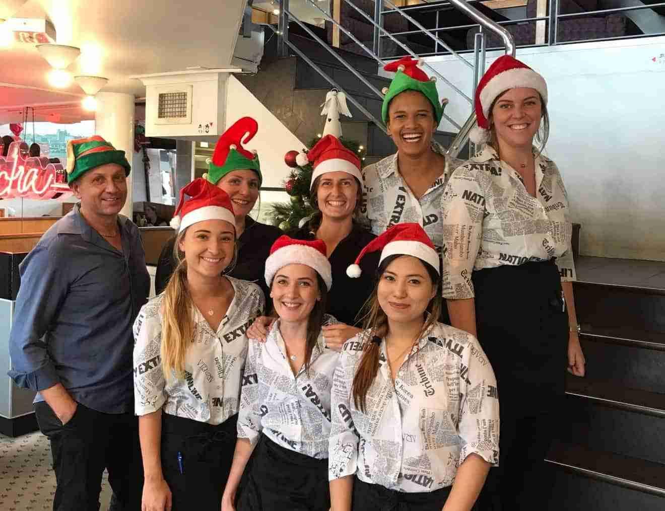 Christmas Staff 1