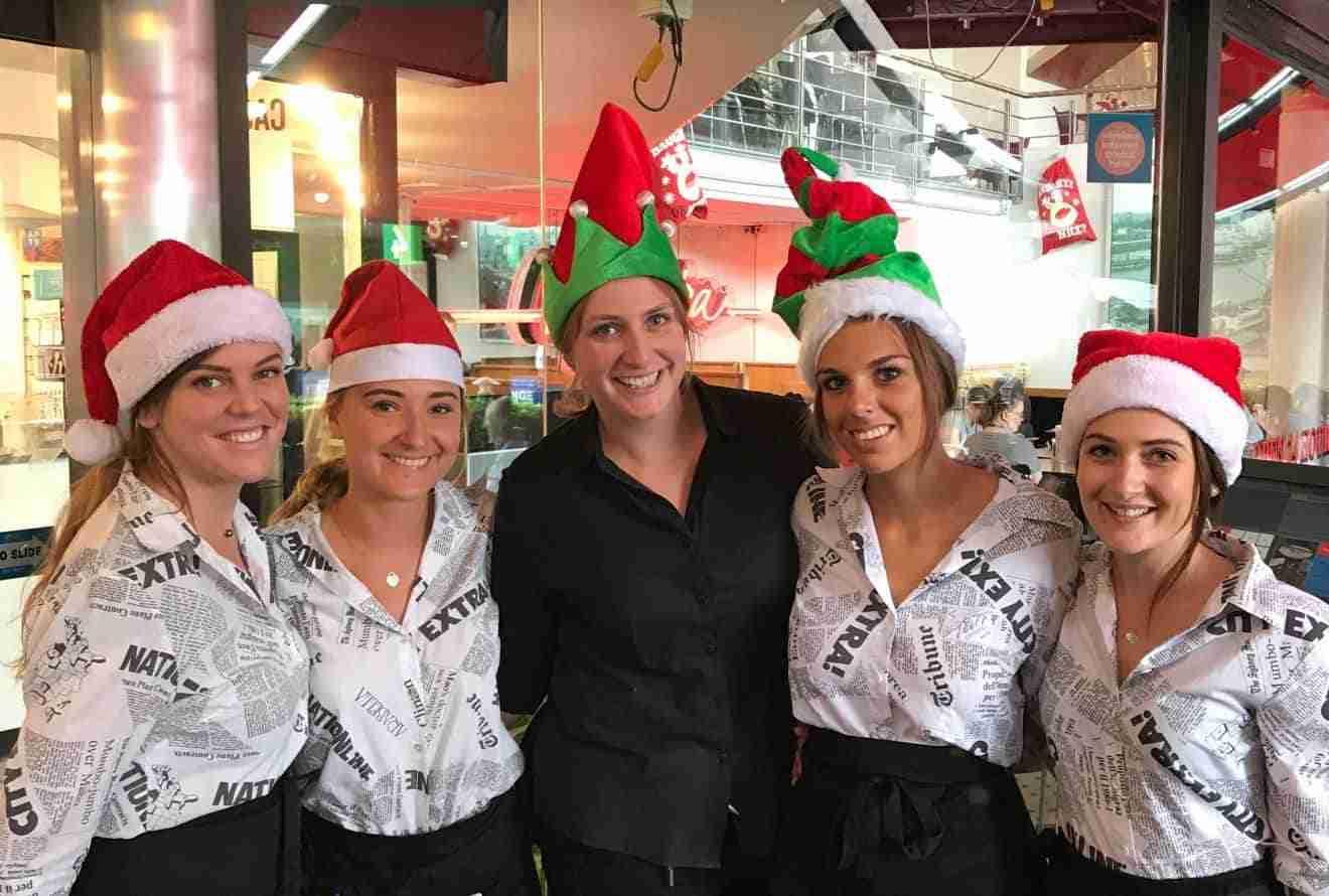 Christmas Staff 2